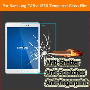 Tempered-Glass-Film Screen-Protector Proof-Film for Samsung Galaxy Tab-A T550 T551/t555
