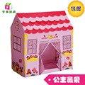 Nova Chegada das Crianças Tenda Casa de Jogos Casa de Princesa Rosa Mar casa de Brinquedos Do Presente Do Feriado Menina Casa Tenda Bebê Portátil melhor presente