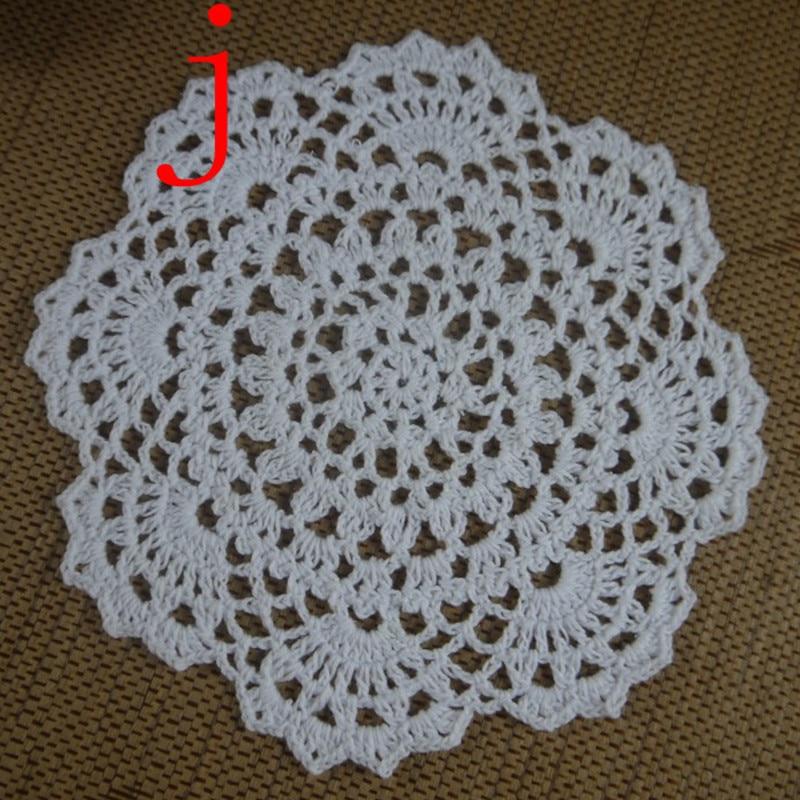 table doilies. Aliexpress.com : Buy Handmade Crochet Doilies Patterns Round 8\ Table