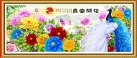 5D DIY Diamond Painting Landscape Paintings Cross Stitch Blooming Flowers Needlework Home Decorative Full Square Diamond
