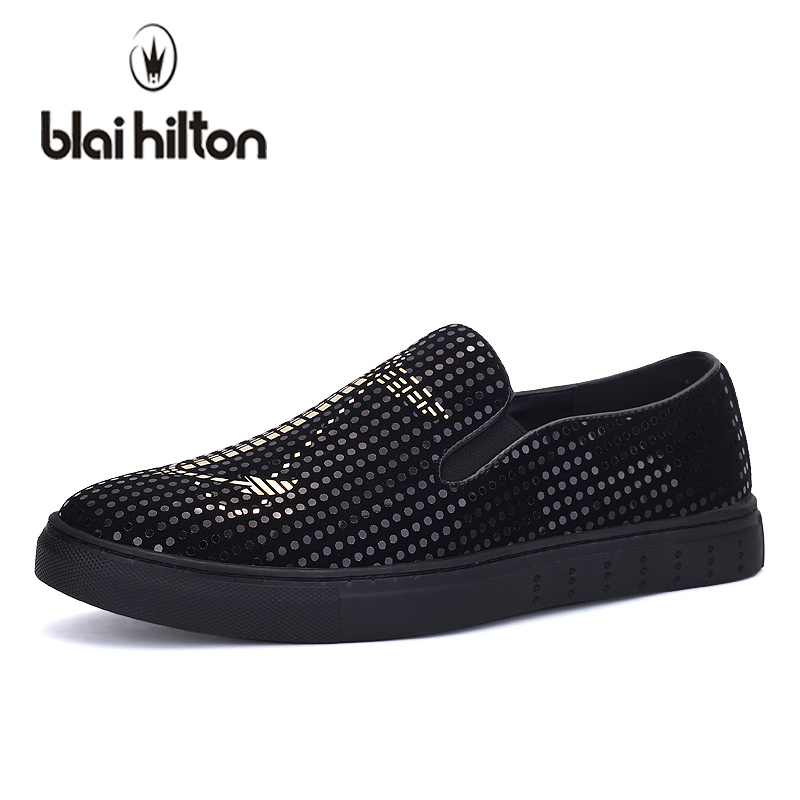 blaibilton Summer Sequins Italian Loafers Men Casual Shoes Leather Boat Moccasins Velvet Luxury Slip On Driving Top Brand Cool men s crocodile emboss leather penny loafers slip on boat shoes breathable driving shoes business casual velet loafers shoes men
