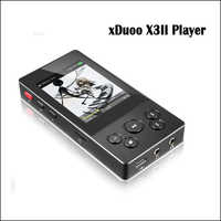 XDuoo X3II X3 ii hallo fi-player mp3 tragbare mp3-player bluetooth lossless musik player dsd hallo-res bluetooth player flac wav
