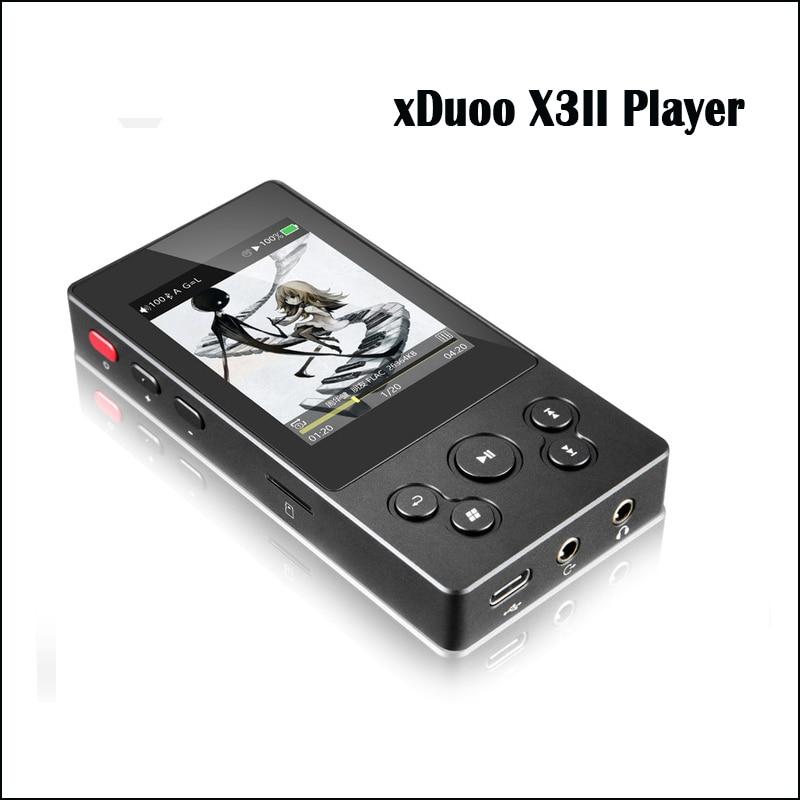 XDuoo X3II X3 ii reproductor de alta fidelidad mp3 reproductor de mp3 portátil bluetooth sin pérdida reproductor de música dsd hi res bluetooth jugador flac, wav-in Reproductor de MP3 from Productos electrónicos    1