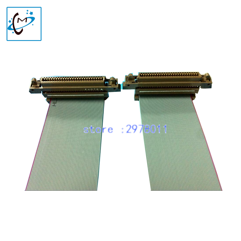 Hot selling!!Konica 1024 printhead data cable 50pin for flora large format out door printer spare parts selling hot sale konica 512i 1024 print head optical data cable fiber cable for versacamm leopard jhf vista outdoor inkjet printer