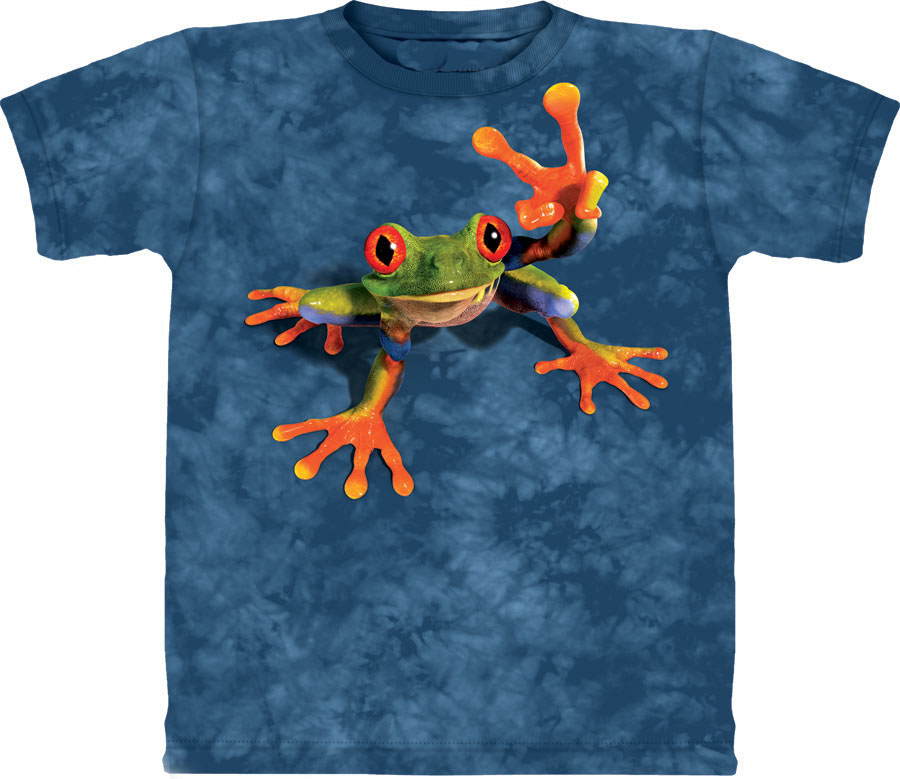 aac64f834 2018 New Fashion men and women Cool T-shirt 3d Print cute frog blue Short  Sleeve Summer Tops Tee Hot style Stylish clothing