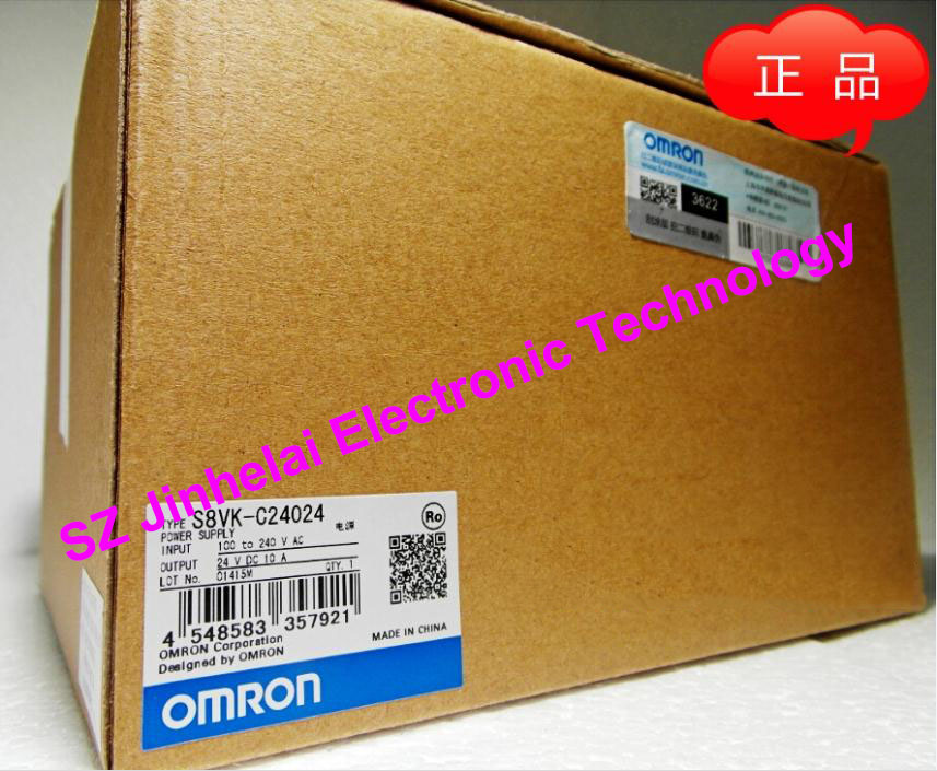 все цены на 100%New and original  S8VK-G24024  OMRON Switching power supply  10A онлайн