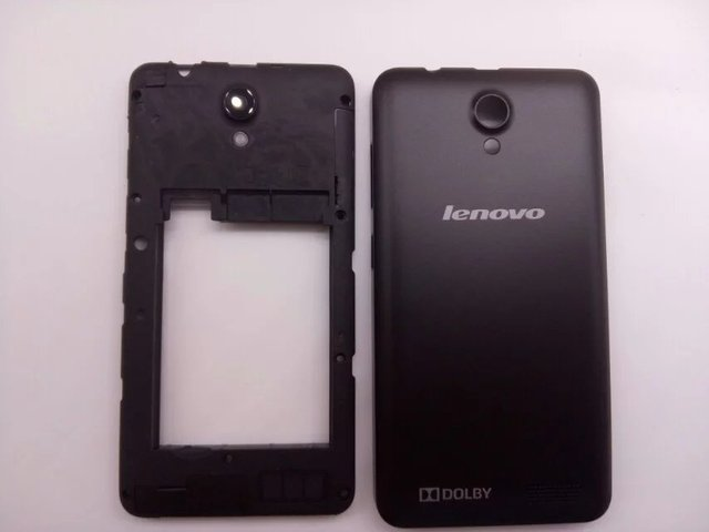 Original Middle Frame Battery Back Cover For Lenovo A319 Housing Door Case With Camera Lens+Antenna+Power Volume Buttons