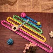 Free Shipping Colorful quadrate knitting loom 4 sizes 25cm,35cm,45cm,55cm for easy weaving handmade crafts Needlework