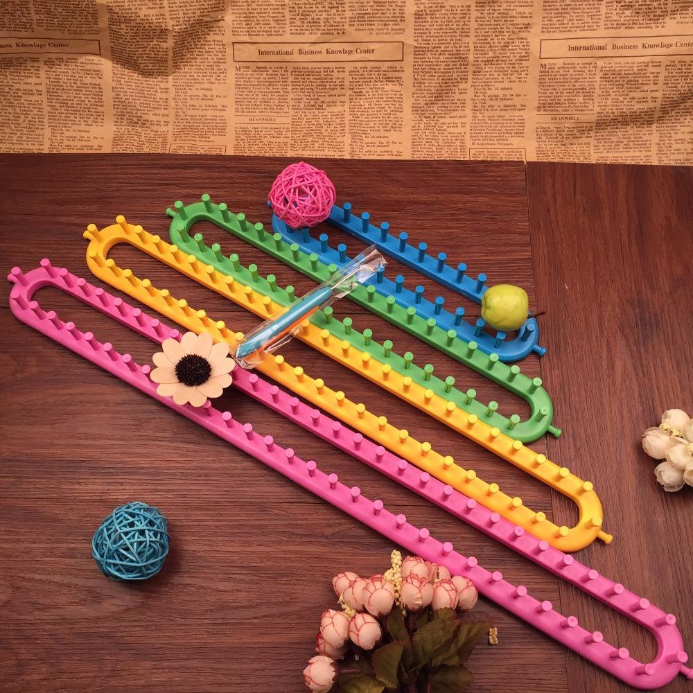 Nemokamas pristatymas 4 spalvų kvadratiniai mezgimo staklės 4 - Menai, amatai ir siuvimas - Nuotrauka 1