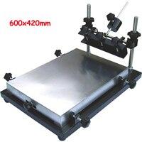 1 1 Screen Press Aluminium Screen Printing Machine 600x420mm