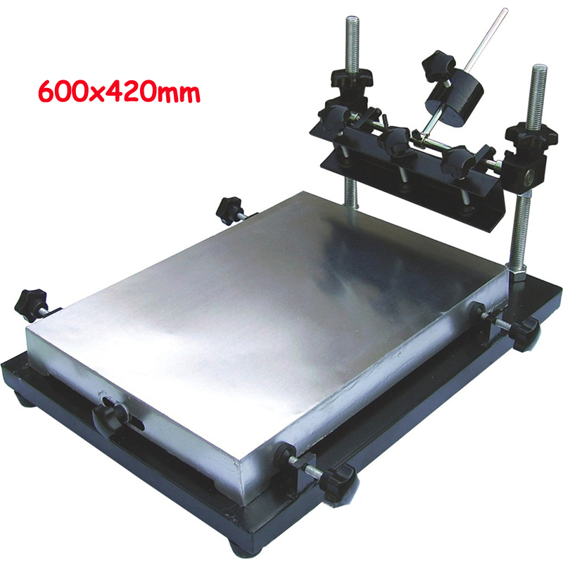 1-1 Screen Press Aluminium Screen Printing Machine 600x420mm1-1 Screen Press Aluminium Screen Printing Machine 600x420mm
