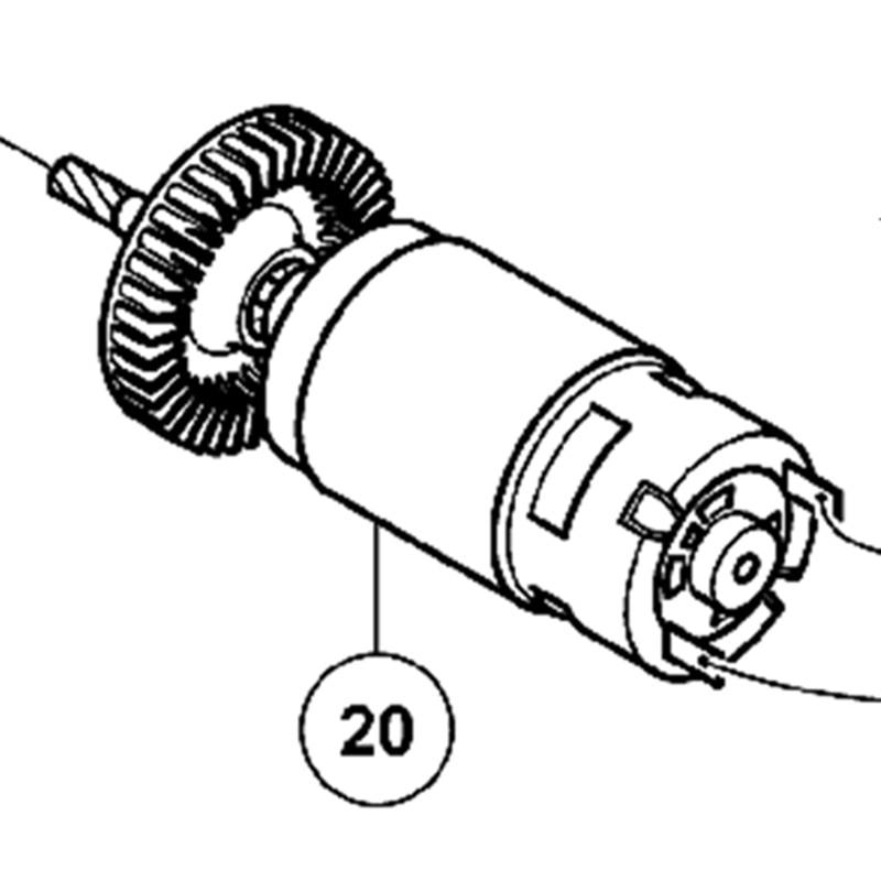 Motor Dc 18v 328361 For Hitachi Cj18dsl Cj18dl Cj18dmr