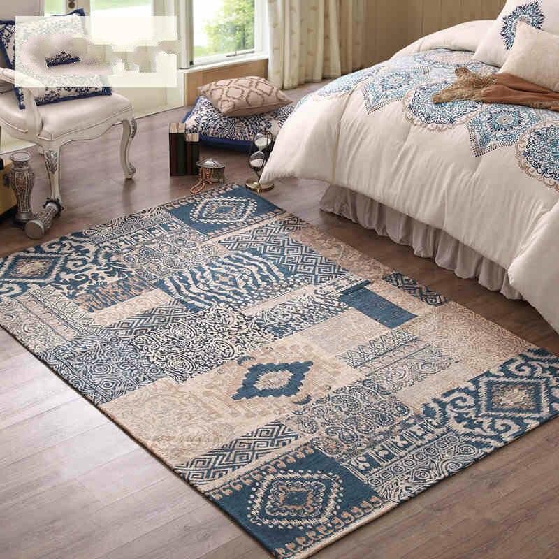 Grand salon tapis Kid chambre tapis de sol épais tapis chambre tapis pour la décoration de la maison et couverture de prière