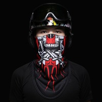 VECTOR Thermal Fleece Ski Mask Winter Face Mask Cap Snowboard Hat Cold Headwear Skiing Snowboard Cycling Face Mask Scarf