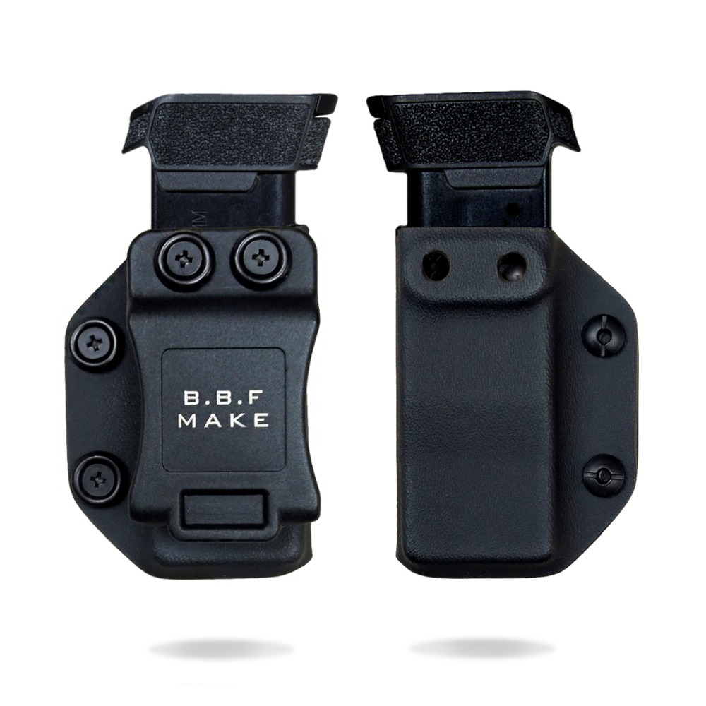 B.B.F Make IWB/OWB KYDEX Magazine Pouch Holster Fits: Sig Sauer P365 HandGun Magazine Pouch Case For Inside or Outside Carry
