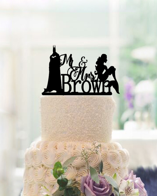 Personalised Wedding Cake Toppers,Wedding Decoration Modern Toppers ...