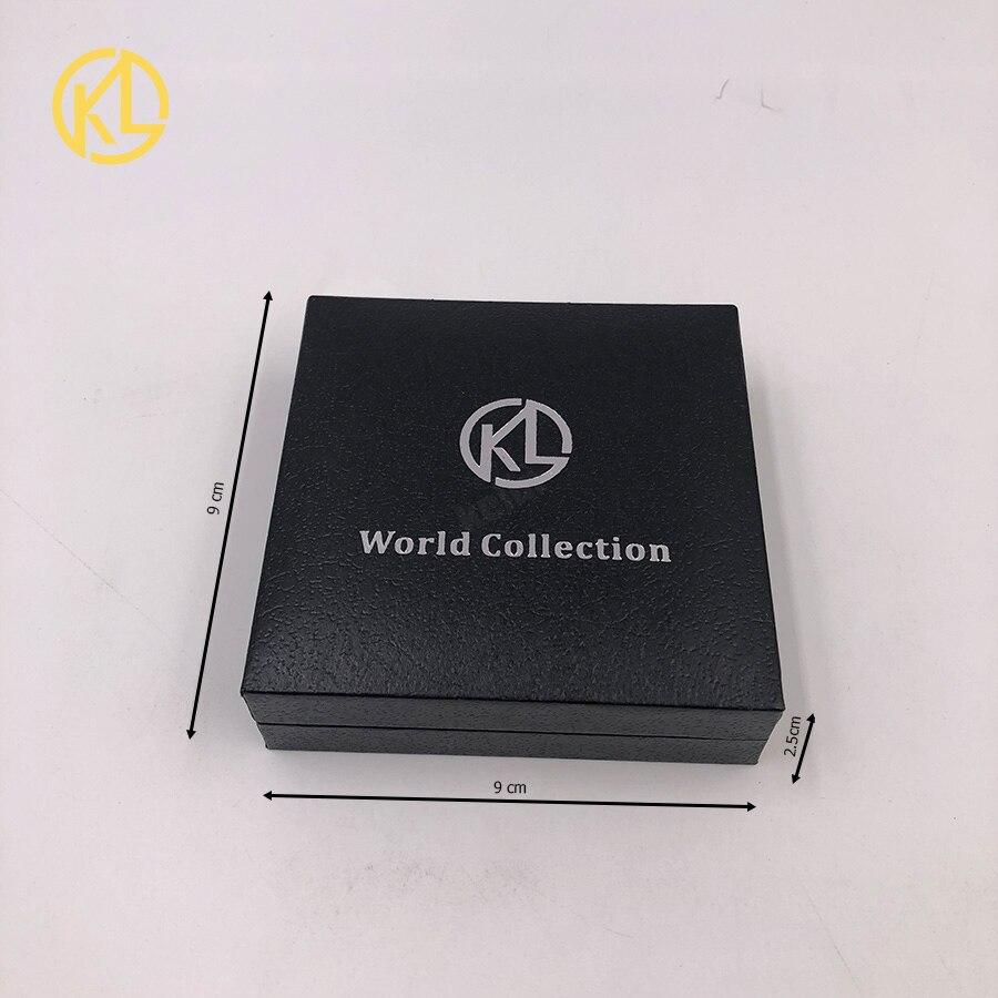 Прямая поставка позолоченная монетница Monero коллекционный подарок Casascius Бит монета Биткоин художественная коллекция физический Золотой памятные монеты - Цвет: Coin Box