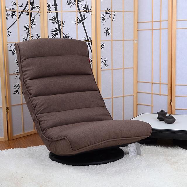 Floor Fauteuil Stoel 360 Graden Swivel Gevouwen Japanse Woonkamer ...