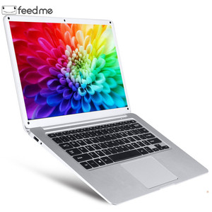 Image 1 - 14.1 Inch Laptop Intel Atom X5 Z8350 Quad Core 2GB RAM 32GB ROM Windows 10 IPS Screen BT with HDMI port WiFi  DHL Free Shipping