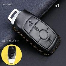 car accessories key cover case araba aksesuar for Mercedes Benz 2016 2017 2018 E S Class Car Key Part Holder Pendant Styling