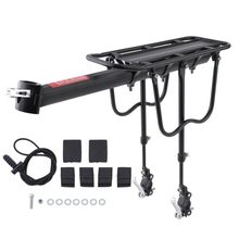 Bicycle Luggage Carrier Cargo 50KG Load Rear Rack Road MTB Shelf Cycling Seatpost Bag Holder Stand For 15-20' Bike +Install Tool(China)