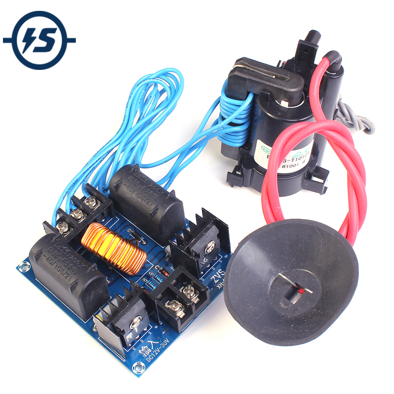Integrated Circuits Disciplined 12-30v 60-300w Zvs Tesla Coil Driver Genrator Board High Voltage Discharge Flyback Generate Module Long Arc 10a 30-50khz