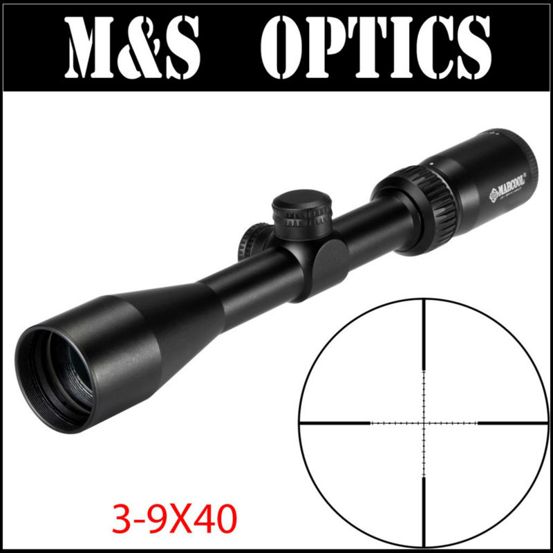 2017 New MARCOOL ALT 3-9X40 riflescope airsoft air rifles guns with scope munts for outdoor hunting sport made in china marcool alt za3 5 25x56 sfir riflescope
