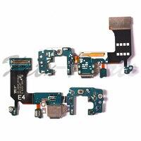 10PCS Für Samsung Galaxy S8 G950F & S8 Plus G955F Dock Connector USB-Lade Port Flex Kabel USB Ladegerät stecker Flex