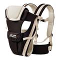 Portador de bebé 2-30 meses para niños Mochilas sling ergonómico Transpirable Multifuncional Frontal Frente a niños Canguro bolsa de envolver al bebé