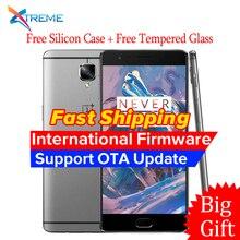 Original Oneplus 3 Three A3000 4G LTE Mobile Phone 6GB RAM 64GB ROM Snapdragon 820 Quad Core 5.5″FHD Android 6.0 Fingerprint