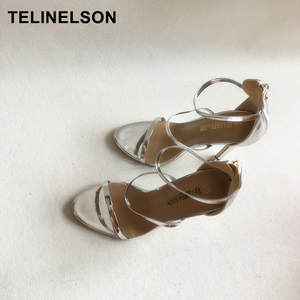 TeliNelson Women Sexy Sandals High Heels Shoes 4 pairs