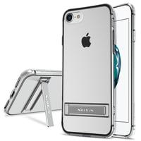 Nillkin Natureza Transparente Limpar Macio TPU Protector case capa para caso do iphone 7 silicone 4.7 polegada telefone caso titular para iphone7