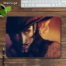 Straw Hat Luffy ACE Mihawk Gamer Mouse Pad Mats 18×22