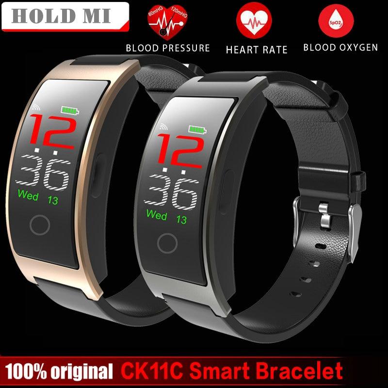 Hold Mi CK11C VS CK11S Smart Colorful Screen Bracelet Blood Pressure Wristband Watch Pedometer Fitness Tracker Smart band