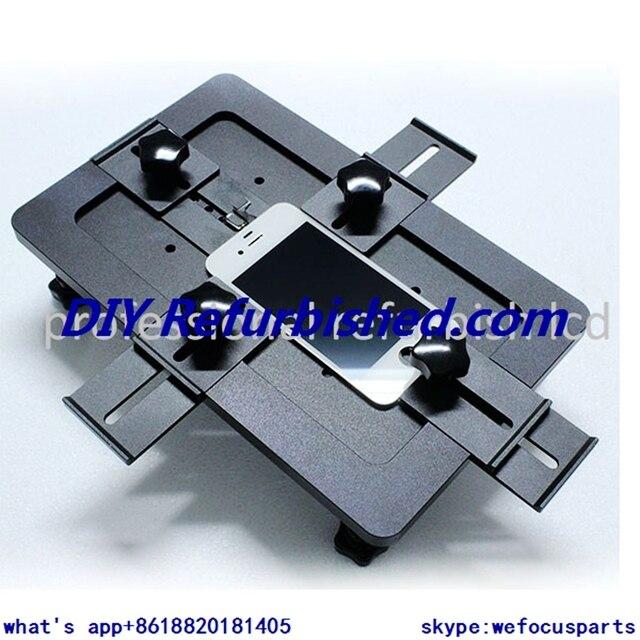 Loca oca molde para iphone 5 5s 5c 6 6 plus, para samsung galaxy note 2 n7100 s6 ect alinhamento molde para reparação lcd