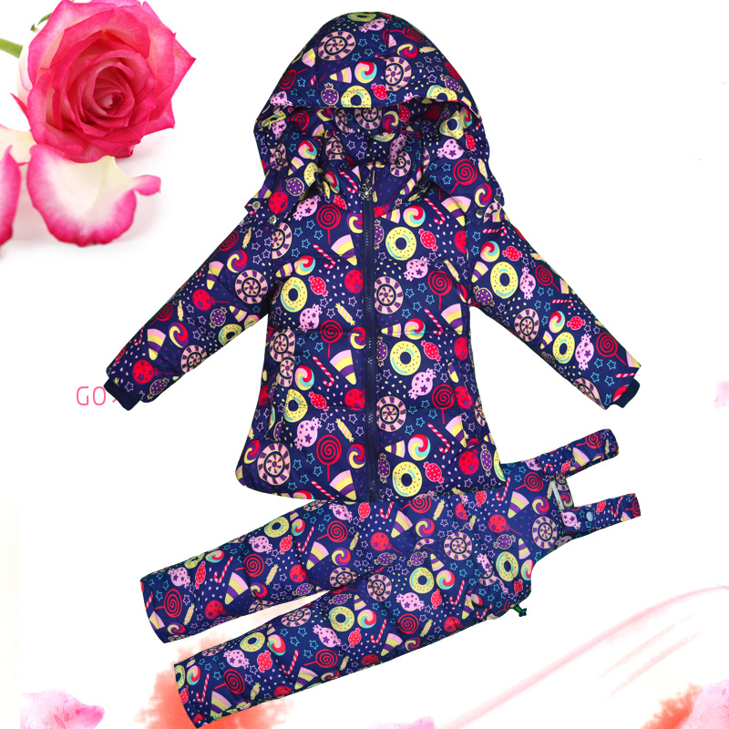 New winter baby snowsuit 2pcs duck down jacket floral printed hooded infant baby boys girls jumpsuits thicken warm snow wear winter baby snowsuit baby boys girls rompers infant jumpsuit toddler hooded clothes thicken down coat outwear coverall snow wear