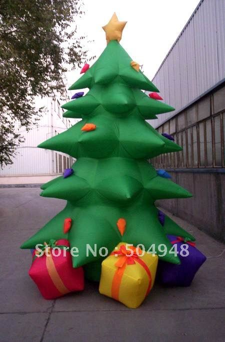 где купить Best Price Christmas Inflatables Tree Advertising дешево
