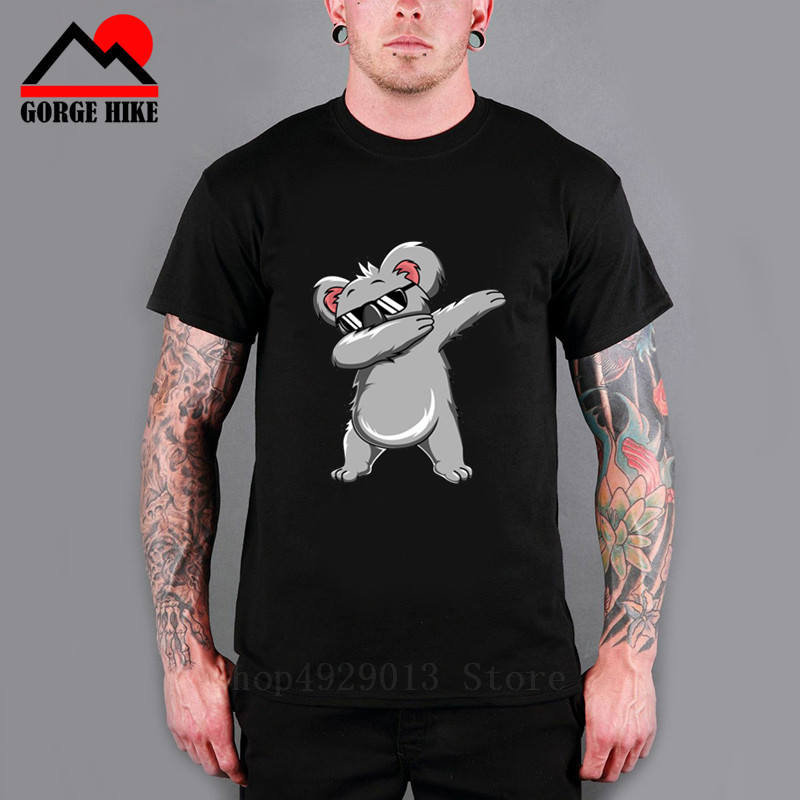Funny Dab Animals Casual T-Shirt Short Sleeve for Kids
