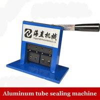 Mejor 1 pieza 55 tubo de aluminio en milímetros máquina de sellado dientes pegar tubo sellador de