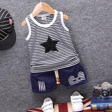 Детские летние комплекты одежды для мальчиков и девочек детский