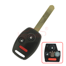 OUCG8D-380H-A  313.8 Mhz 3 button remote key with ID46 chip for Honda Accord  free shipping 1pcs new offer kd900 remote nb10 3 1 button remote key with nb xtt new honda model for 2013 2015 honda