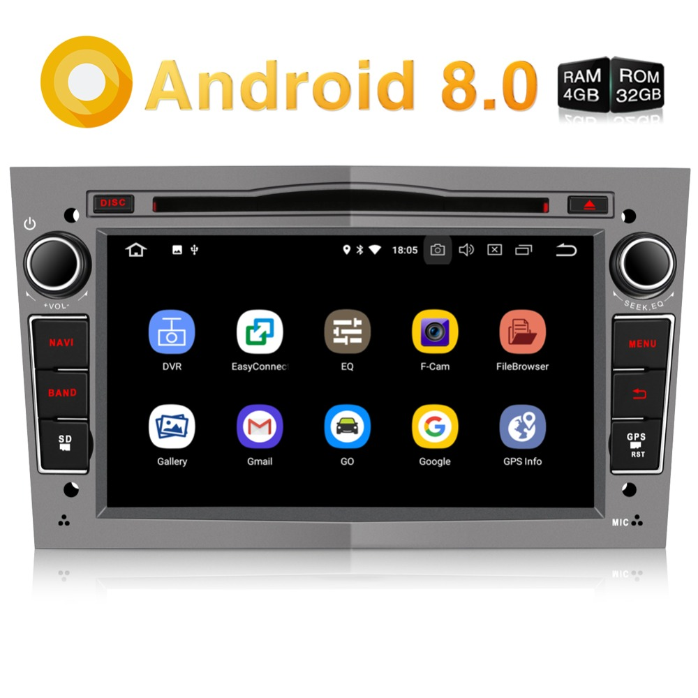 Pumpkin2 Din7''Android 8.0 Car Radio Audio DVD Player Octa-core 4G+32G GPS Navigation Wifi Fastboot Stereo For Opel/Vectra/Corsa