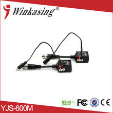 Transmit Distance CCTV 1CH BNC Video Balun Audio Video Power For Surveillance