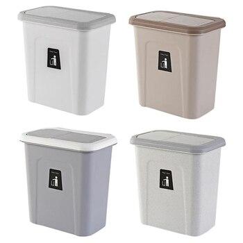 Топ!-Кухонная Выдвижная крышка мусорная корзина для фруктов и овощей кухонная корзина для хранения мусора простая коробка для хранения бел...