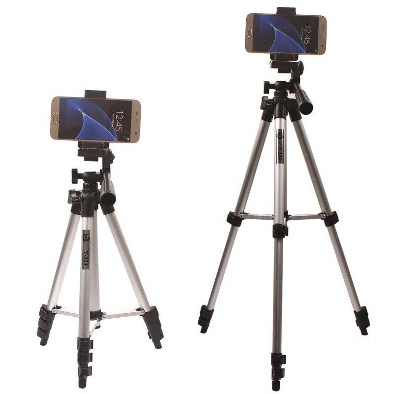 אוניברסלי אלומיניום המצלמה תעמוד בעל חצובה עבור סמסונג גלקסי S7 S7 קצה S7 פלוס
