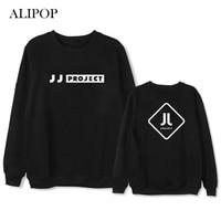 ALIPOP Kpop GOT7 JJ PROJECT Album Hoodie Hip Hop Casual Loose Hoodies Clothes Pullover Printed Long Sleeve Sweatshirts WY539