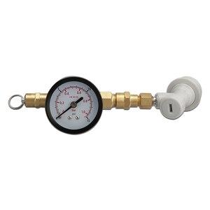 Image 4 - Клапан сброса давления co2 с зарядным устройством, с манометром, 0 15 psi, с резьбовым шаровым затвором для заправки пива, бочонка CO2