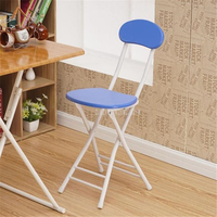 4PCS/Set NEW Simple Design Stable Folding Dinning Chair Outdoor Folding Chair Modern Minimalist Office Meeting Training Chair