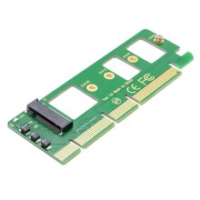 Jimier PCI E 3.0 16x x4 to M key NGFF NVME AHCI SSD Adapter for XP941 SM951 PM951 A110 m6e 960 EVO SSD