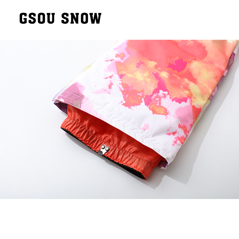 Gsou snow double snowboarding pants pants women snow winter outdoor waterproof trousers